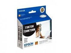 Cartucho de Tinta Preto - Epson DuraBrite T072126 com as melhores condições você encontra no Magazine Edmilson07. Confira!