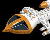 LEGO Bauanleitung: Space 1999 Mark IX Hawk