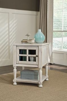 Get Your Cottage Accents Chair Side End Table At Furnish 123 Moline Davenport Ia Furniture