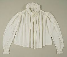 Historikal-Modiste: Regency Shirt for Sleeveless Gowns