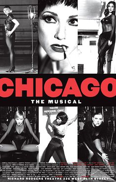 Chicago - original with Bebe Neuworth and at Studio 54 in 2001 with Mollly Ringwald