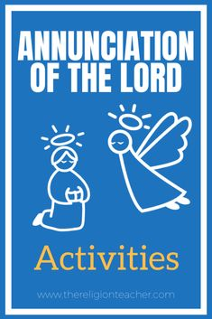 A collection of Annunciation activities, crafts, and worksheets you can use to teach children in Catholic religious education lessons. Catholic Religious Education, Catholic Kids, Christmas Worksheets, Worksheets For Kids, Bible Activities, Activities For Kids, Teaching Kids, Religion
