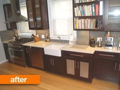 Before & After: Updating a Victorian Kitchen (and Bathroom)   Apartment Therapy