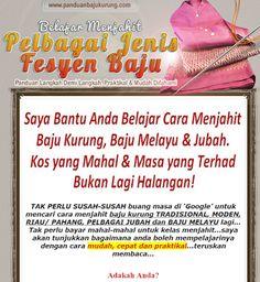 Melayu Boleh Menjahit