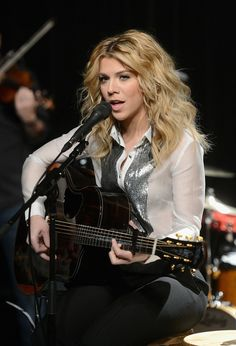 The Band Perry Kimberly Perry | Kimberly Perry Photos - The Band Perry Visits Music Choice - Zimbio