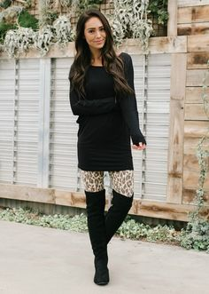 clothes for women,casual outfits,base layer clothing,casual outfits Leopard Leggings Outfit, Patterned Leggings Outfits, Printed Leggings Outfit, Jeggings Outfit, Leggings Outfit Winter, Leopard Print Outfits, Leggings Fashion, Leggings Style, Black Leggings
