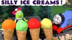 Learn Colors cooking silly Play Doh Ice Creams with Thomas The Train and Candi Funling. Thomas The Tank Engine takes funny Funlings Candi Funling around the . Play Doh Ice Cream, Ice Cream Car, Thomas The Tank, Royalty Free Music, Learning Colors, New Flavour, The Flash, Kids Toys, Train