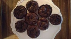 Chocolate Zucchini Muffin (Gluten Free) Chocolate Zucchini Muffins, Gluten Free Muffins, Muffin Recipes, Goodies, Baking, Breakfast, Sweet, Food, Sweet Like Candy