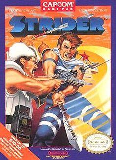 Strider! One of my favorite Nintendo games!