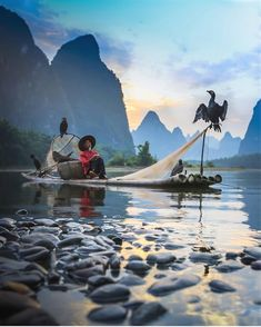 So unique. Photography by fishermen Guilin, Poster On, Far Away, Travel Posters, Travel Inspiration, Earth, Photoshoot, China, Mountains