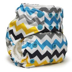 Rumparooz g2 One Size Pocket Diaper with 6-r Soaker- SNAP