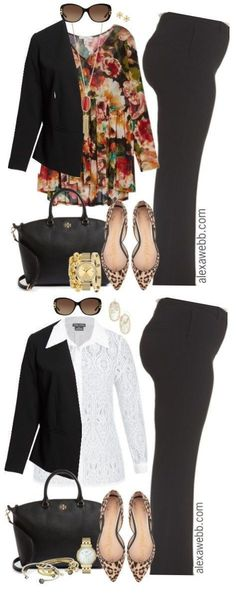 Plus Size Fall Work Outfits - Plus Size Fashion for Women - Plus Size Business Attire - alexawebb.com