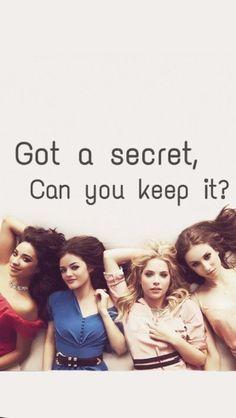 Elke keer als ik het intro stukje hoor;got a secret, can you keep iT? Zeg ik automatisch nee