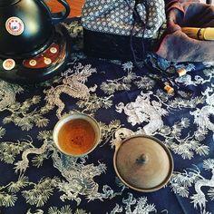 #Tealife #teatravel #everywhere #Tea #Cha #茶 #MalaikaTea #ChaTeaSardinia by nekomalaika