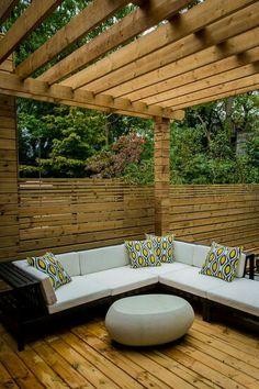 Pergola Ideas For Patio Outdoor Rooms, Outdoor Gardens, Outdoor Living, Outdoor Decor, Pergola Ideas For Patio, Pergola Plans, Deck Pergola, Modern Pergola, Cheap Pergola