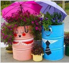 Ideas to reuse Metal Barrels