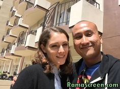 PHOTO: Me rockin' it with actress Ariane Labed.  #TheLobster #AssassinsCredMovie #AssassinsCreed