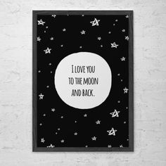 poster to the moon