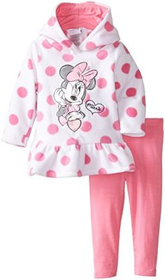 Disney Baby Girls' Minnie Mouse 2 Piece Polka Dot Fleece Set, Pink Medium, 18 Months Disney http://www.amazon.com/dp/B00K0A79Y0/ref=cm_sw_r_pi_dp_NkTHvb1T3MFEV