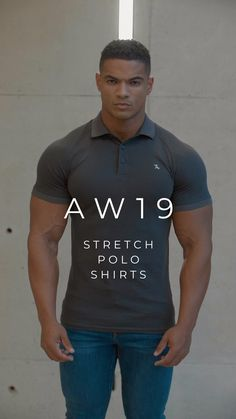 The new seasonal colours of our Stretch Polo Shirts. A design that offers a premium look and feel, uniquely finished with an embroidered TA emblem. Best Polo Shirts, Dad To Be Shirts, Mens Clothing Styles, Sport Clothing, Polo Shirt Outfits, Estilo Cool, Black Male Models, Formal Men Outfit, Tumbrl Girls