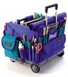 Stuff Teachers Like Rolling Bags For Teachers, Teacher Rolling Cart, Teacher Cart, Teacher Tote, Teacher Organization, Teacher Gifts, Organizing Bags, Traveling Teacher, Art Cart