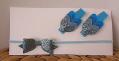 Hair Accessories Pack - Sky Blue by UnderTheCherryTreeAU on Etsy