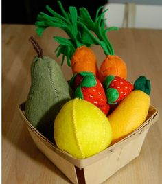 Blog Crush: Apartment Therapy's Huge List Of Felted Food Tutes - foodista.com