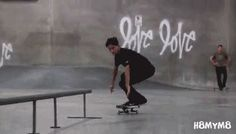 Oscar Meza // F/S Feeble Bigspin Heelflip Out
