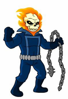 The Simpson's Ghost Rider