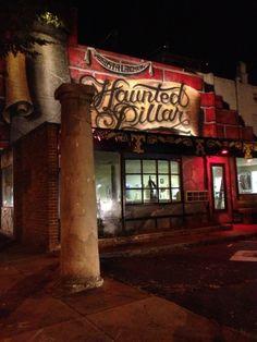 Haunted pillar in Augusta, GA
