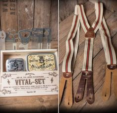 Miss Mole Vintage Shop - Rockabilly, Retro, & Vintage Mode Button Suspenders, Rockabilly Mode, Small Leather Goods, Pin Up Style, S Man, Haberdashery, Carhartt, Retro, Wedding Attire