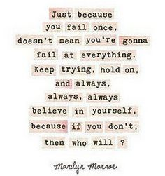 truth Love Marilyn's quotes!