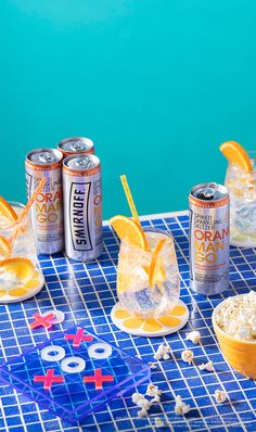 Bring your home hangouts to the next level with these Orange Mango Smirnoff Spiked Sparkling Seltzers. Pour one over ice and garnish with orange for a delicious addition to this weekends get together with friends. Only 90 calories and zero sugar! To find Alcoholic Drinks, Beverages, Cocktails, Vodka Drinks, Cocktail Recipes, Photo Food, Smirnoff, Delicious Fruit, Commercial Photography