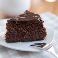 Gâteau au chocolat sans sucre Chocolate Recipes, Chocolate Cake, Flan, Nom Nom, Cake Recipes, Delish, Brownies, Caramel, Muffins