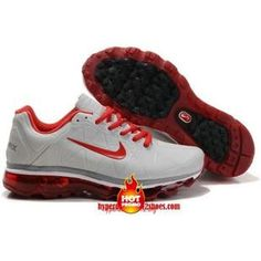buy online 796ad 37310 Cheap Nike Womens White Leather Red Grey 429889 116 Air Max 2011 Nike Air  Max 2011