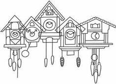 Fresh, creative designs and tutorials for machine and hand embroidery. Hand Embroidery Patterns, Embroidery Applique, Cross Stitch Embroidery, Cross Stitch Patterns, Embroidery Designs, Pattern Coloring Pages, Colouring Pages, Coloring Books, Clock Art