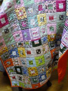 Suzuko Koseki fabric quilt 簡単キルト - ぐーたら日記