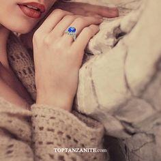Tanzanite Engagement Ring, Tanzanite Ring, Engagement Rings, Class Ring, Wedding Bands, Turquoise, Fresh, Collection, Women