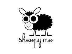Sheepy Me | #caracter #cartoon #logo design inspiration