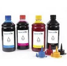 Kit 4 Tintas para Epson EcoTank L380 CMYK 500ml Inova ink