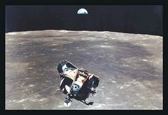 Apollo 11: Eagle Ascent by NASA - Art Print