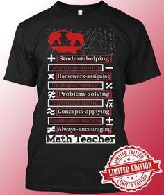 Math Teachers only
