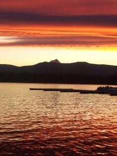 Sunset at Pine Hollow,  Oregon