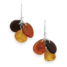 Cognac Amber Earrings. Get the lowest price on Cognac Amber Earrings and other fabulous designer clothing and accessories! Shop Tradesy now