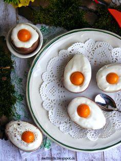 mellimille: Süße Ostereier mit Kokoscreme für den Ostertisch