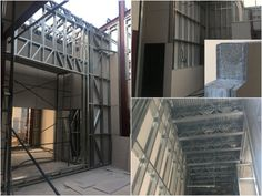 Solid building system Concrete Insulation, Roof Insulation, Types Of Cladding, Fiber Cement Board, Cladding Materials, Steel Frame Construction, Portland Cement, Building Systems, Ventilation System
