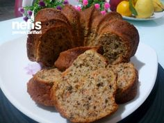 Yummy Cakes, Banana Bread, French Toast, Muffin, Food And Drink, Sweets, Breakfast, Desserts, Recipes
