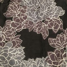 NWT Gap Scarf NWT scarf from GAP with flower pattern. Very lightweight perfect for spring. Black and greys. All sales are final. Price is flexible - make me an offer! GAP Accessories Scarves & Wraps