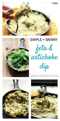 Simple feta and arti