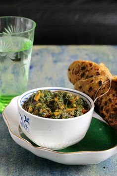 Try this Spicy Spinach Stir Fry-the indian way, my grandma's treasured recipe.